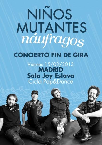 NEWSLETTER MADRID fin de gira