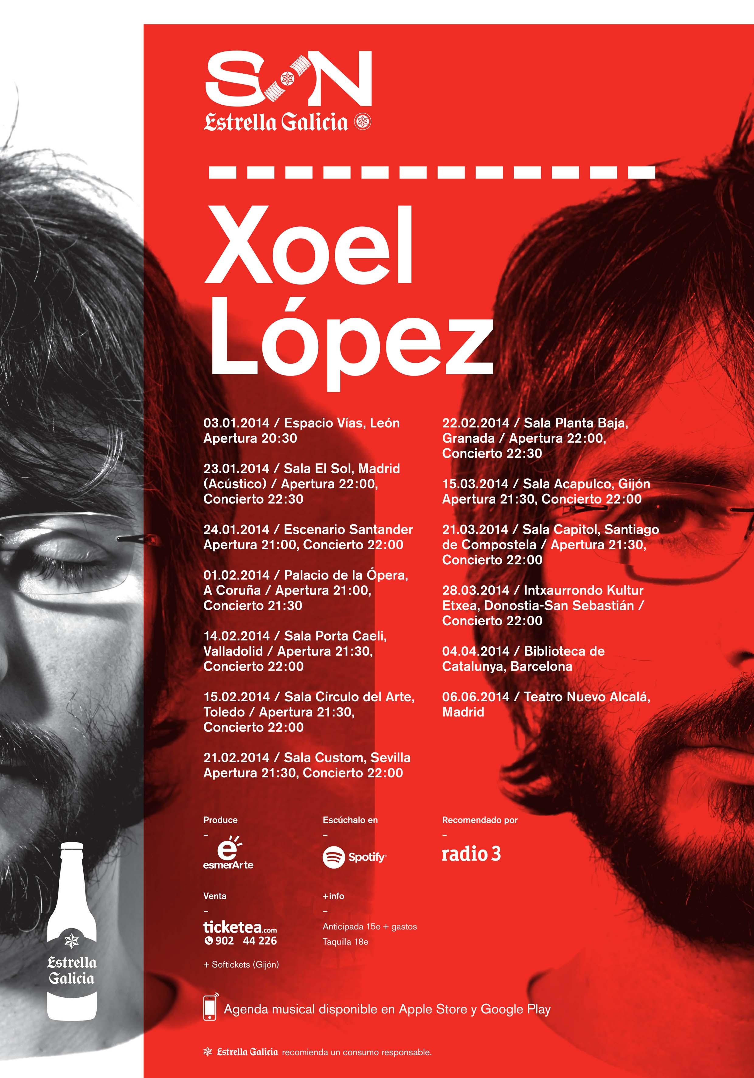 Xoel López - Gira