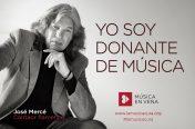 José Mercé es donante de música